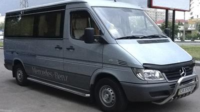 Аренда микроавтобуса Mercedes 8 мест