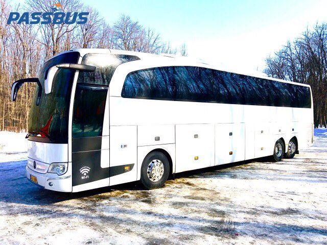Аренда автобуса Mercedes Benz Travego 50 мест