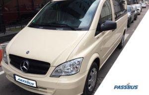 Аренда минивэна Mercedes-Benz Vito с водителем в Киеве