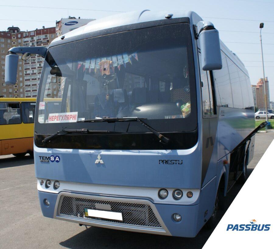 Заказ автобуса Mitsubishi на 30 мест